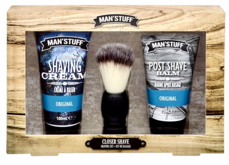 MAN´S STUFF Barberingsett