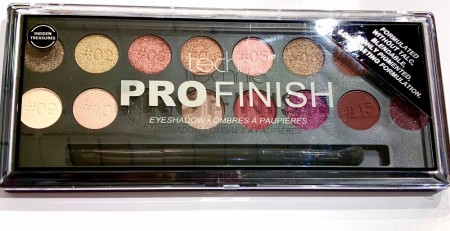 TECHNIC PROFINISH EYESHADOWS PALETTE