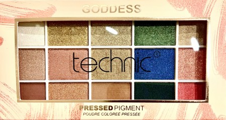 GODDESS eyeshadow palette by TECHNIC LONDON