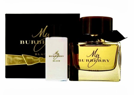 MY BURBERRY BLACK edp 90ml & 75ml bodylotion