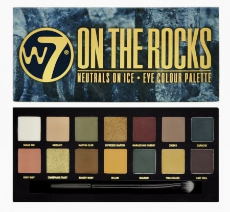 W7 ON THE ROCKS Makeup palette