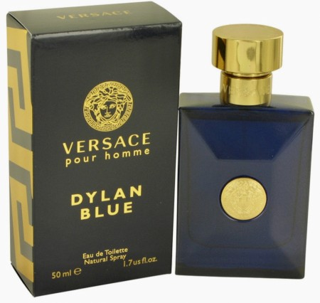 VERSACE DYLAN BLUE pour homme edt 50ml