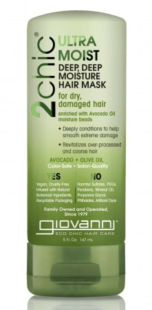 GIOVANNI 2Chic Ultra Moist Avocado and Olive Oil Hair Mask