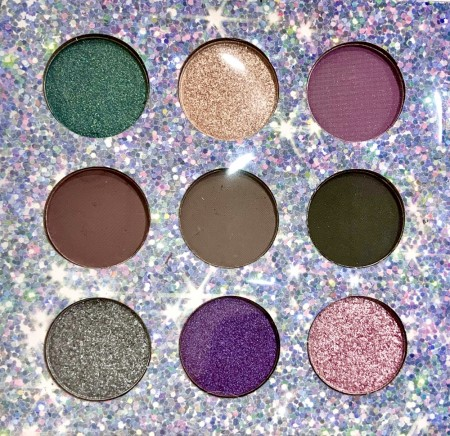 GALAXIA eyeshadow palette by TECHNIC