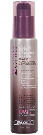 GIOVANNI Brazilian Keratin & Argan oil Leave-in Elixir