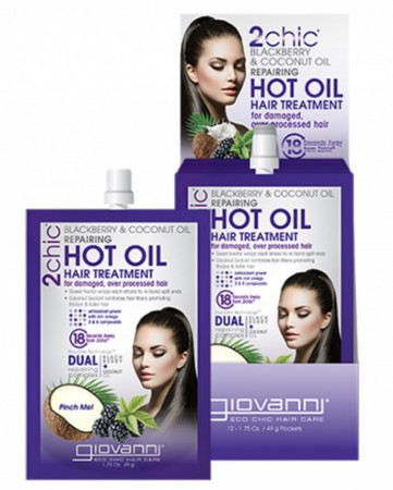 GIOVANNI 2Chic Repairing Blackberry and Coconut Milk HOTOIL Hair Treatment
