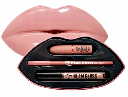 W7 KISS KIT «BARE IT ALL»