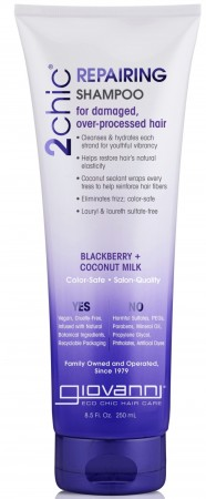 GIOVANNI Blackberry & Coconut Milk Shampoo
