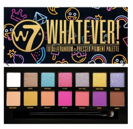 W7 WHATEVER Makeup palette