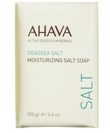 AHAVA moisturizing salt soap