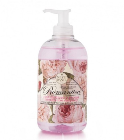 NESTI DANTE Rose and Peony Hand & Face Soap