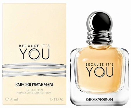 ARMANI BECAUSE IT´S YOU edp 50ml